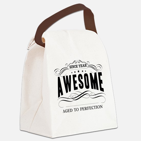 Personalized Birthday Aged To Per Canvas Lunch Bag
