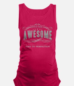 Personalized Birthday Aged To P Maternity Tank Top