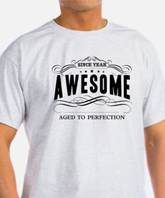 Personalized Birthday Aged To Perfec T-Shirt