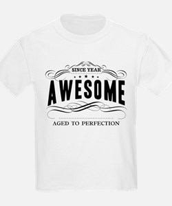 Personalized Birthday Aged To P T-Shirt
