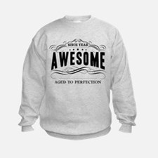 Personalized Birthday Aged To Perf Sweatshirt