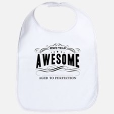 Personalized Birthday Aged To Perfection Bib
