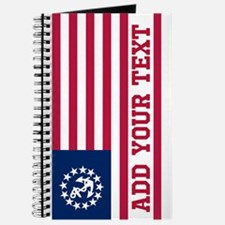 Personalized American Yacht Flag Journal