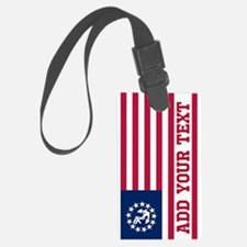 Personalized American Yacht Flag Luggage Tag