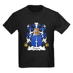 Dages Family Crest  Kids Dark T-Shirt