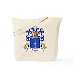 Dages Family Crest  Tote Bag