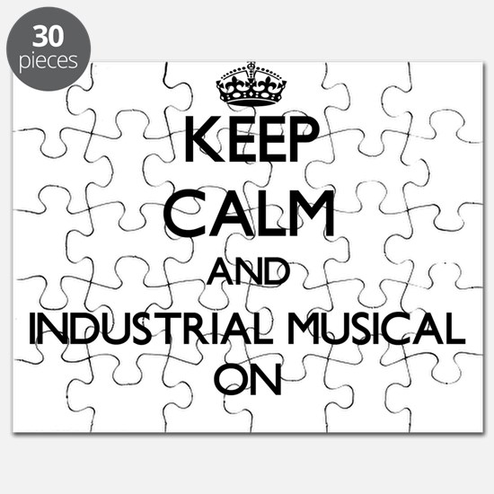 Keep Calm and Industrial Musical ON Puzzle