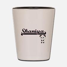 Shaniya Classic Retro Name Design with Shot Glass