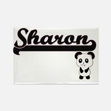 Sharon Classic Retro Name Design with Pand Magnets