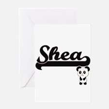 Shea Classic Retro Name Design with Greeting Cards
