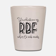 Resting Bitchy Face Shot Glass