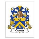 Crouzet Family Crest Small Poster