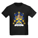 Crouzet Family Crest Kids Dark T-Shirt