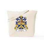 Crouzet Family Crest Tote Bag