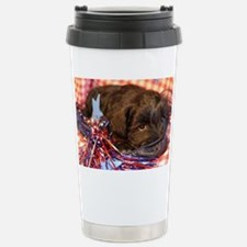 Bentley's 4th of July Stainless Steel Travel Mug