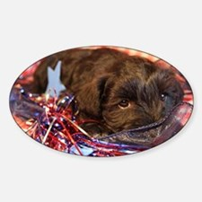 Bentley's 4th of July Sticker (Oval)