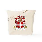 Creton Family Crest Tote Bag