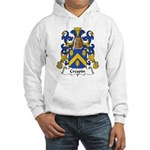Crespin Family Crest Hooded Sweatshirt