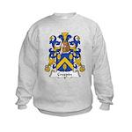 Crespin Family Crest Kids Sweatshirt