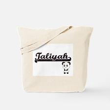 Taliyah Classic Retro Name Design with Pa Tote Bag