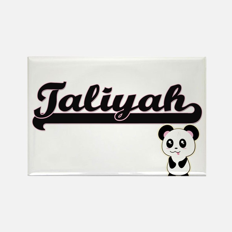 Taliyah Classic Retro Name Design with Pan Magnets