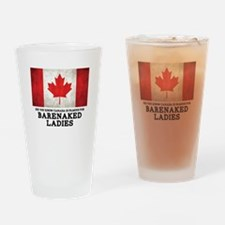 Canada Famous for BNL Drinking Glass