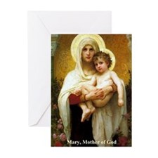 Mary, Mother of God Greeting Cards (Pk of 10)
