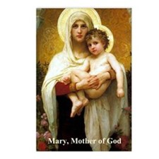 Mary, Mother of God Postcards (Package of 8)
