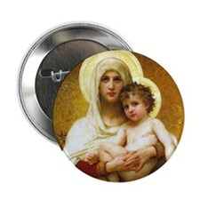 Mary, Mother of God Button (10 pack)