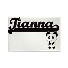Tianna Classic Retro Name Design with Pand Magnets