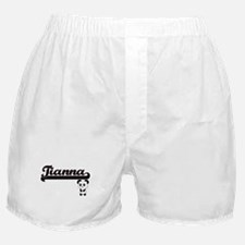 Tianna Classic Retro Name Design with Boxer Shorts