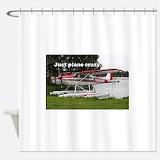 Just plane crazy: Cessna float plan Shower Curtain