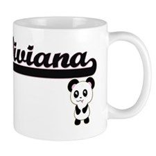 Viviana Classic Retro Name Design with  Mug