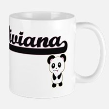 Viviana Classic Retro Name Design with  Small Small Mug