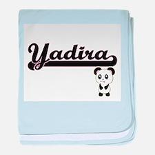 Yadira Classic Retro Name Design with baby blanket