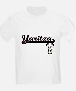 Yaritza Classic Retro Name Design with Pan T-Shirt