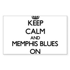 Keep Calm and Memphis Blues ON Decal