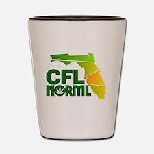 Central Florida NORML Official Logo Shot Glass