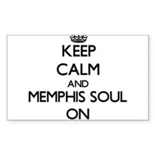 Keep Calm and Memphis Soul ON Decal