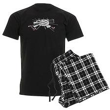 Moonbase Grunge Men's Dark Pajamas
