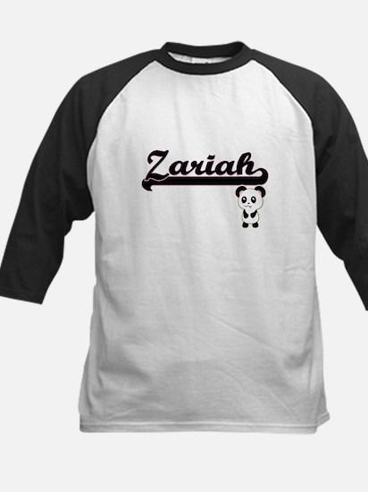 Zariah Classic Retro Name Design w Baseball Jersey