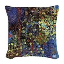 Stars in Our Eyes Woven Throw Pillow