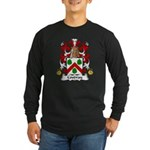 Coudray Family Crest Long Sleeve Dark T-Shirt