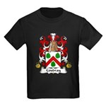 Coudray Family Crest Kids Dark T-Shirt