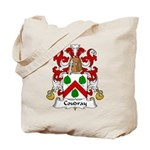 Coudray Family Crest Tote Bag