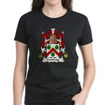 Coudray Family Crest Women's Dark T-Shirt
