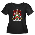 Coudray Family Crest Women's Plus Size Scoop Neck