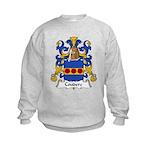 Couderc Family Crest  Kids Sweatshirt