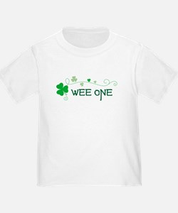 wee one Shamrock T