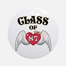 Class of '87 Ornament (Round)